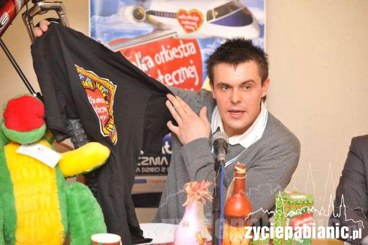 Piotr Roszak szuka jeszcze 20 wolontariuszy