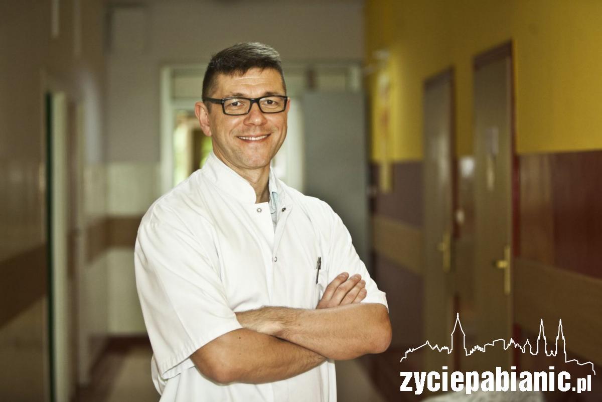 Lek. med. Jacek Koprowicz, kierownik Pabianickiego Centrum Psychiatrycznego