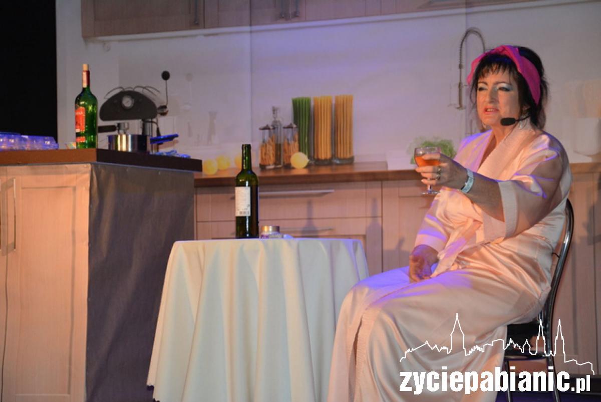 Bożena Krawczyńska jako Shirley Valentine