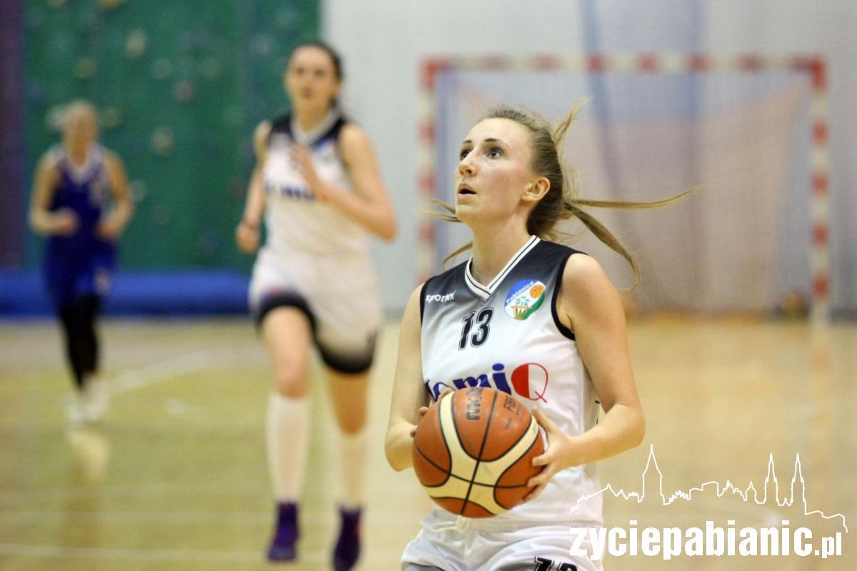 Katarzyna Pęcina jest podstawową zawodniczką ekipy z Pabianic
