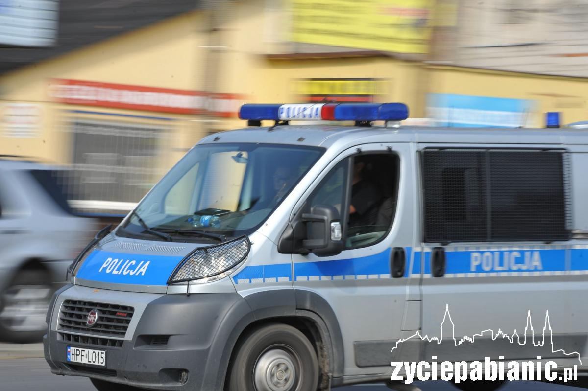 Policjanci złapali złodzieja życie pabianic