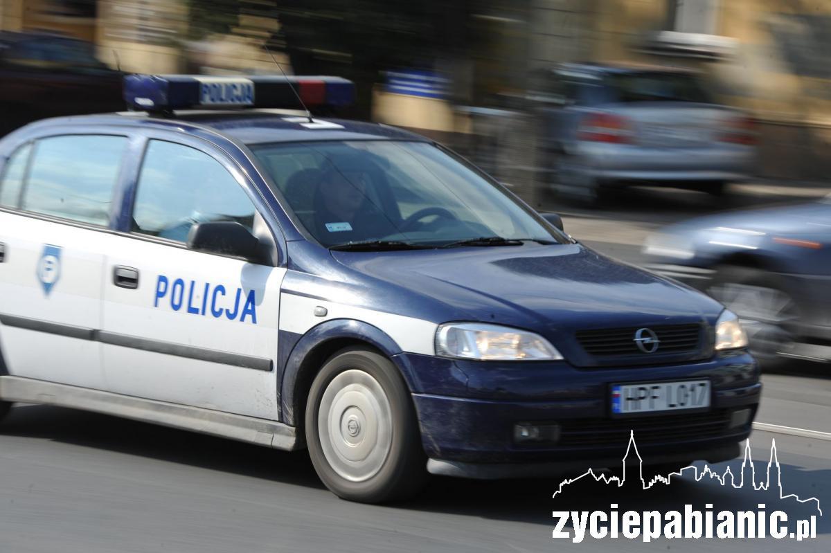 Policjanci ścigali pijanego kierowcę życie pabianic