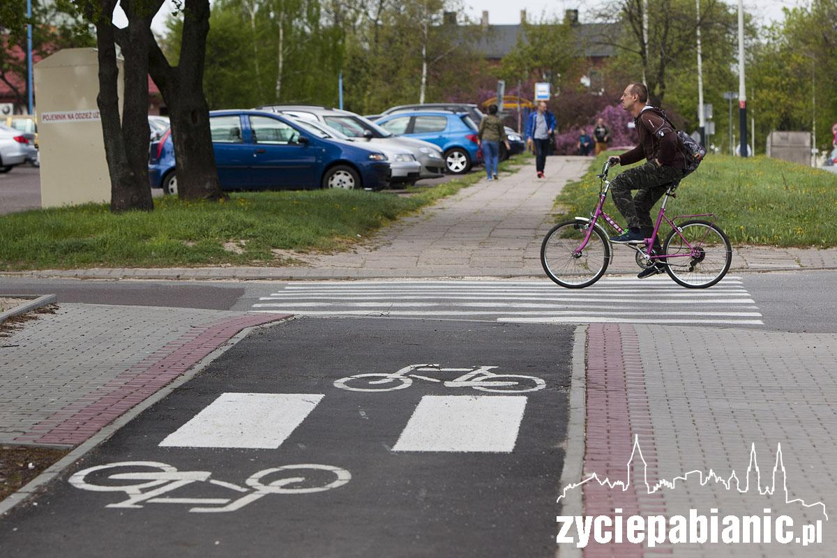 Będzie ścieżka rowerowa na całej ulicy Nawrockiego Życie Pabianic