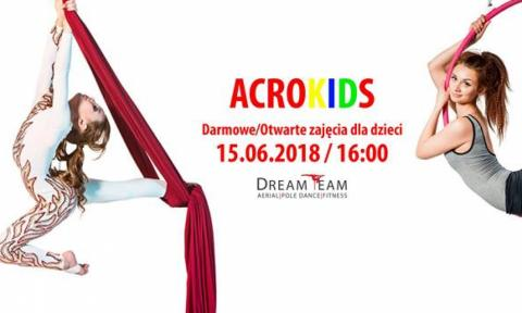 Acro kids Dream Team Życie Pabianic