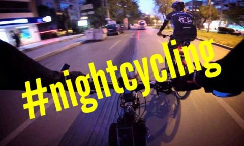 Night cycling Pabianice Życie Pabianic
