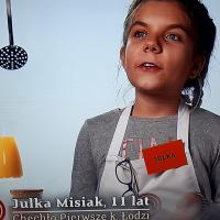 Julka Misiak w Master Chef Junior