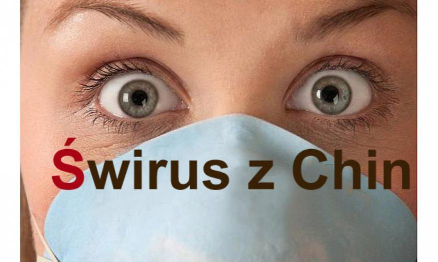 Znalezione obrazy dla zapytania: świrus wirus